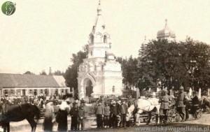 Cerkiew św. Aleksandra Newskiego w 1916 roku. Z kolekcji Aleksandra Sosny.